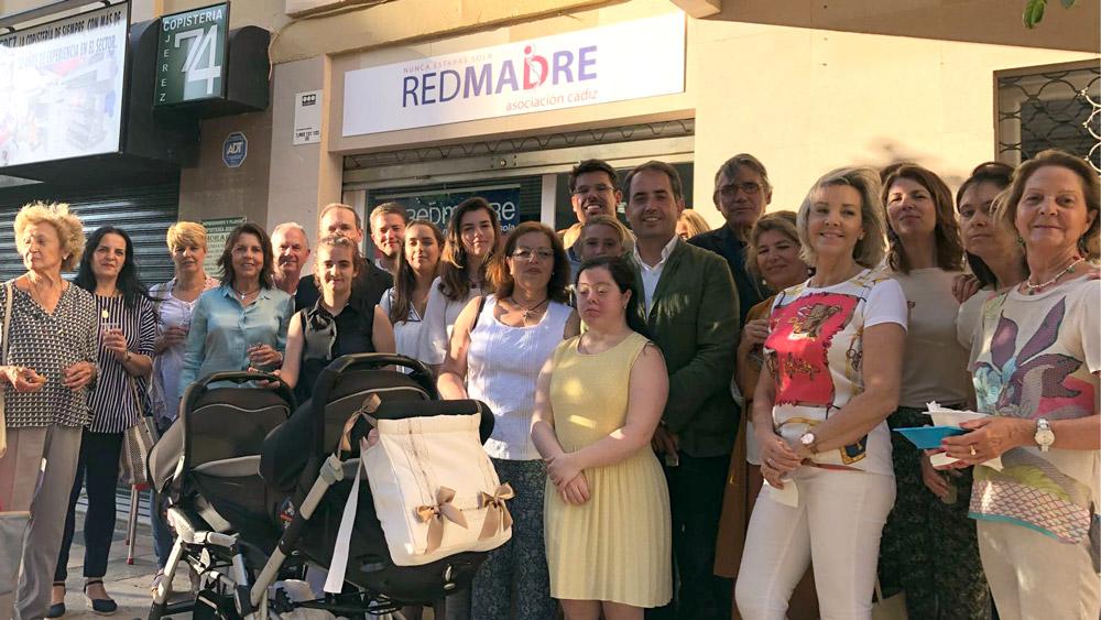 Inauguración de la nueva sede de RedMadre
