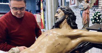 Revisión del estado del Santísimo Cristo